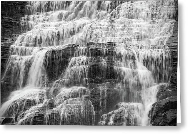 Steps And Flows Greeting Card by Kristopher Schoenleber