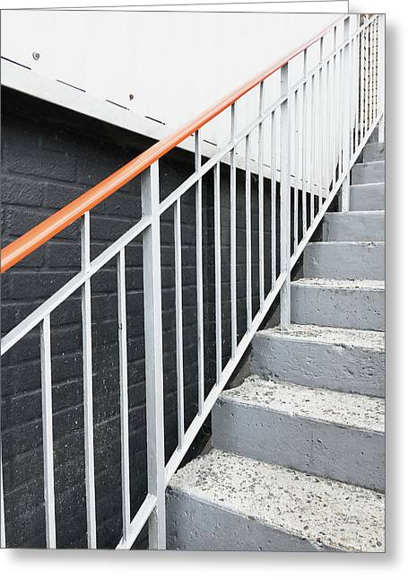 Steps And Railings Greeting Card