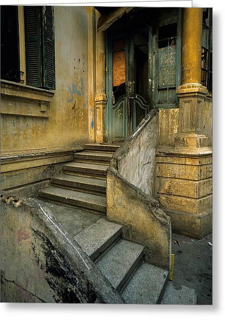 Steps. Greeting Card by Tarek Charara