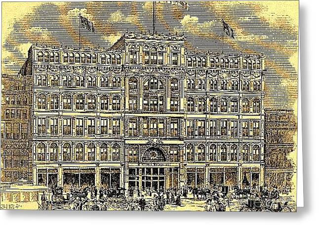 Stern Bros. Department Store In New York City 1906 Greeting Card