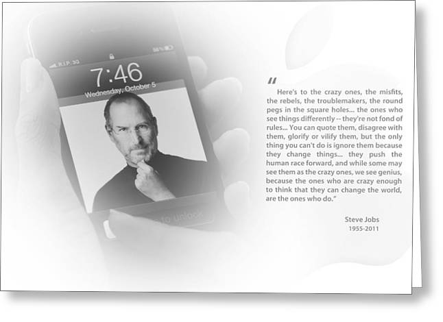 Steve Jobs 1 Greeting Card