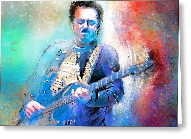 Steve Lukather 01 Greeting Card