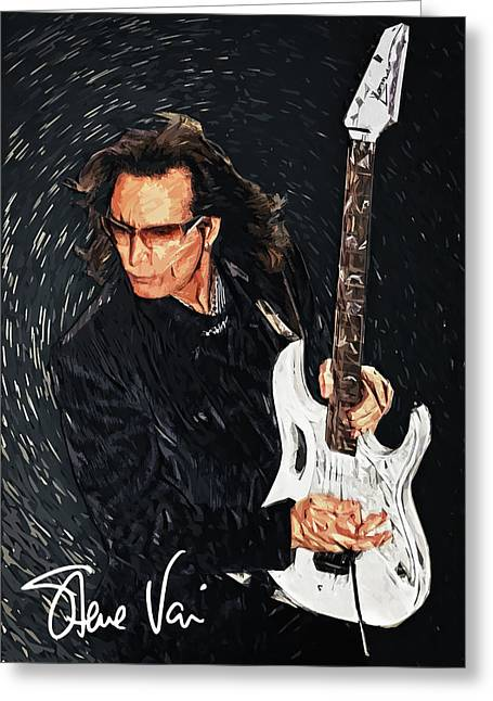 Steve Vai Greeting Card