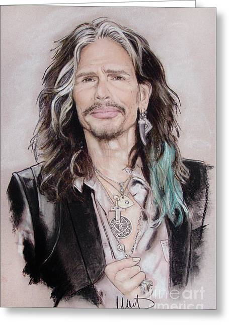 Steven Tyler 1 Greeting Card