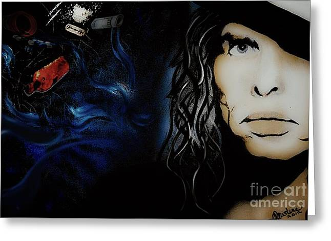 Steven Tyler Greeting Card