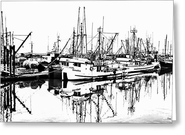 Steveston Harbor Greeting Card