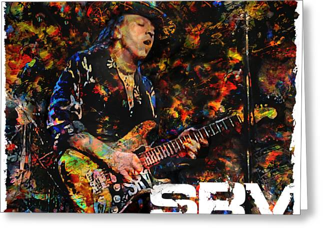 Stevie Ray Greeting Card