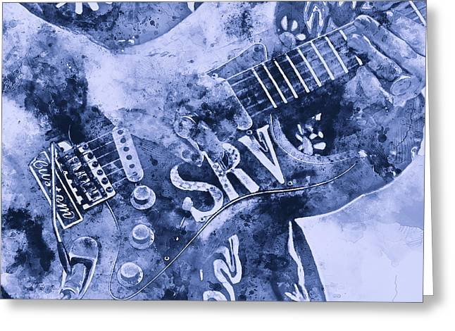 Stevie Ray Vaughan - 04 Greeting Card