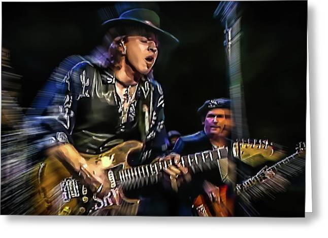 Stevie Ray Vaughan - Couldn't Stand The Weather Greeting Card