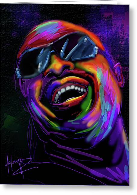 Stevie Wonder Greeting Card
