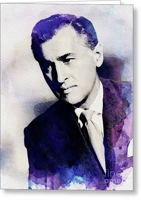 Stewart Granger, Vintage Actor Greeting Card