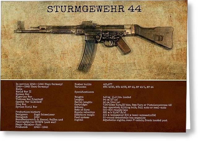 Stg 44 Sturmgewehr 44 Greeting Card