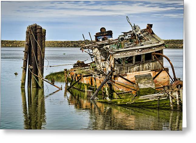Still Afloat Greeting Card by Heather Applegate