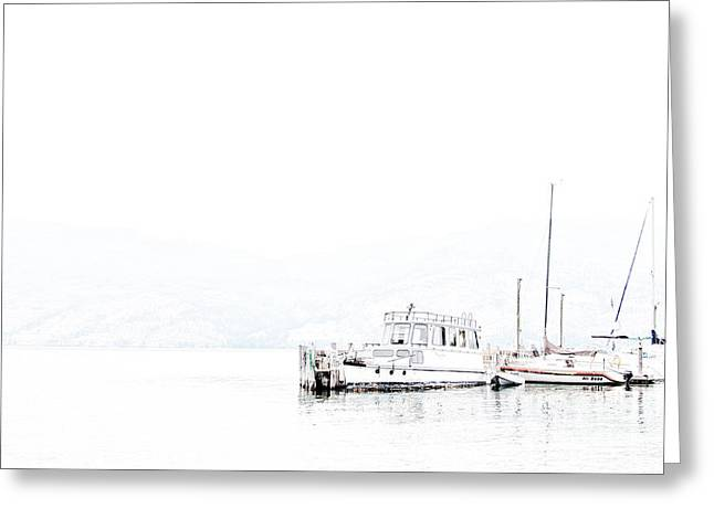 Still Harbour Greeting Card