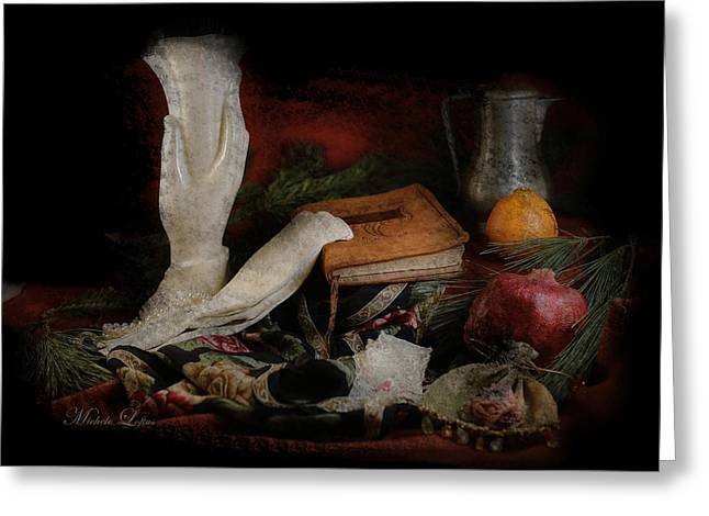 Still Life 4102a Greeting Card by Michele Loftus
