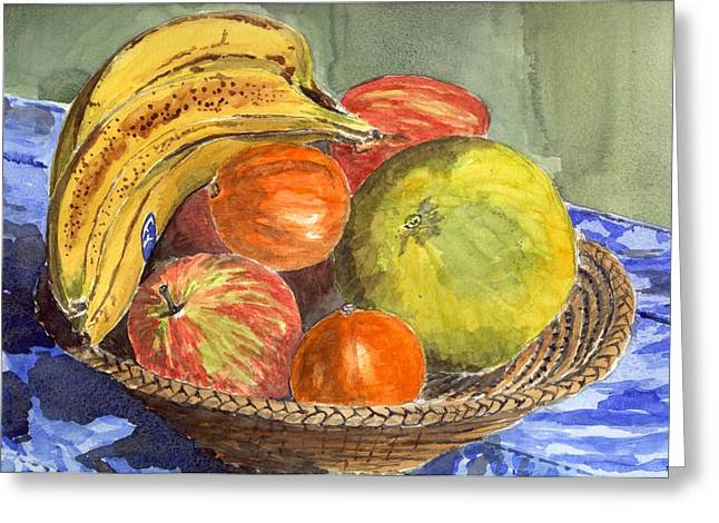 Still Life Greeting Card by Mike Lester