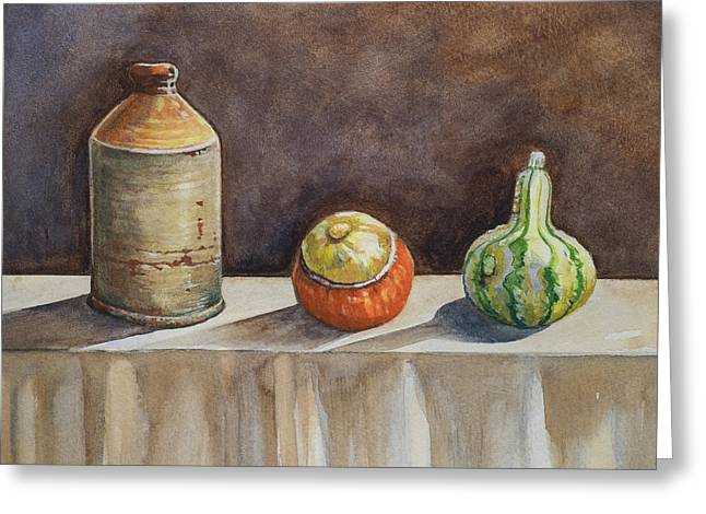 Still Life On A Table Greeting Card