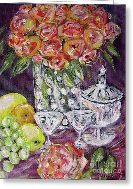 Still Life. Prosperity Greeting Card