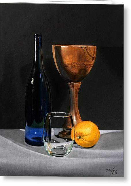 Still Life Greeting Card by RB McGrath