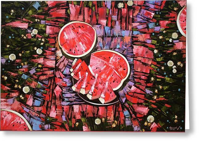 Still Life. The Taste Of Summer. Greeting Card by Anastasija Kraineva