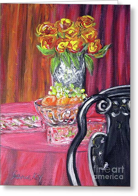 Still Life. Welcome Greeting Card