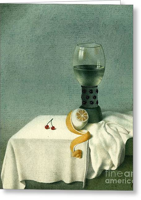 Still Life With A Goblet Greeting Card