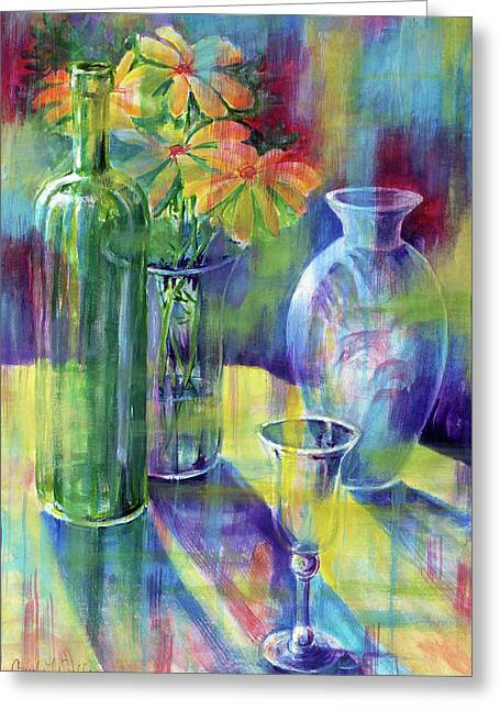 Still Life With Color Greeting Card
