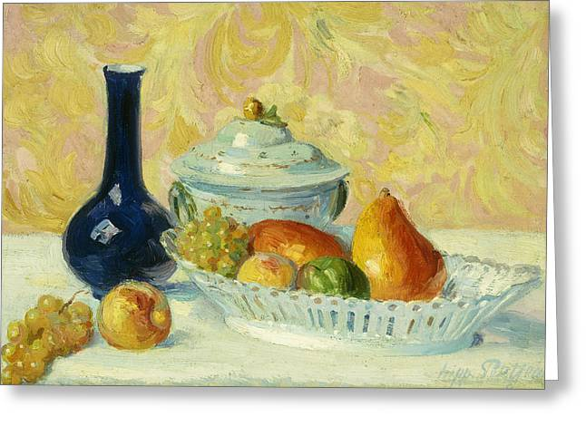 Still Life With Fruit    Nature Morte Aux Fruits Greeting Card
