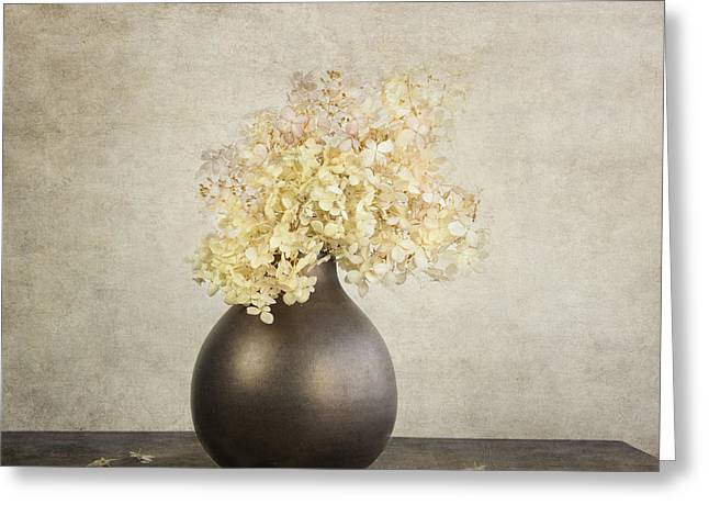 Still Life With Hydrangea Greeting Card