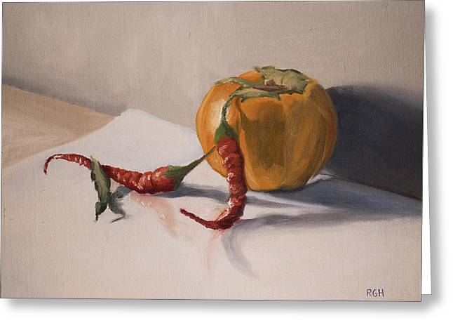 Still Life With Produce Greeting Card