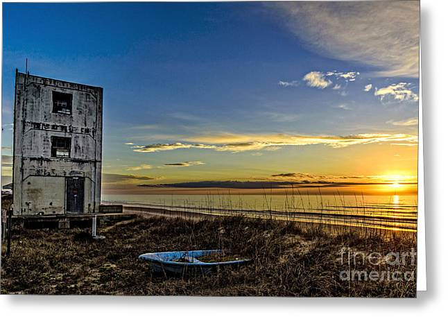 Greeting Card featuring the photograph Still Standing by DJA Images