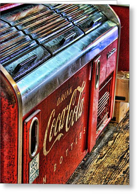 Clayton Photographs Greeting Cards - Still The Real Thing Greeting Card by Joetta West
