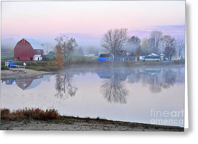 Still Waters On Stoneledge Lake Greeting Card