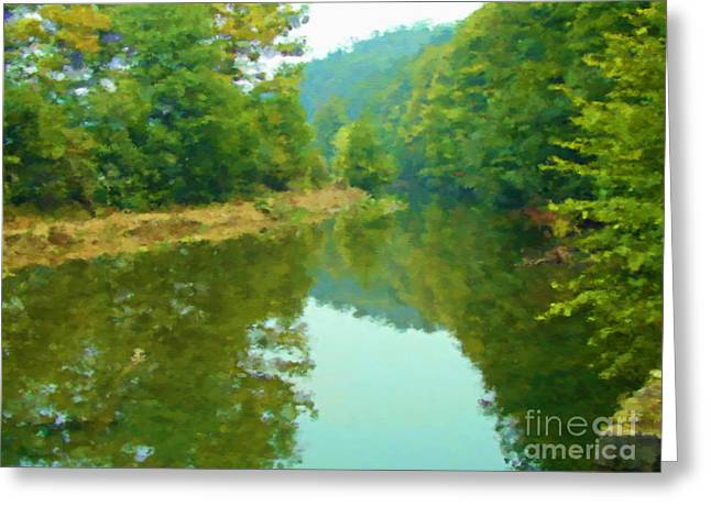 Stilling River Greeting Card