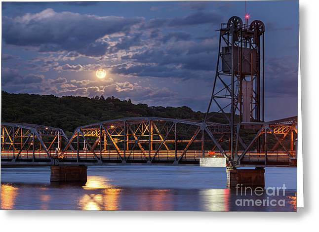 Stillwater Blue Moon Greeting Card