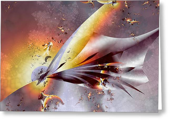 Stingray Greeting Card by Dan Turner