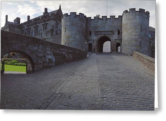 Stirling Castle Port Greeting Card by Jan W Faul