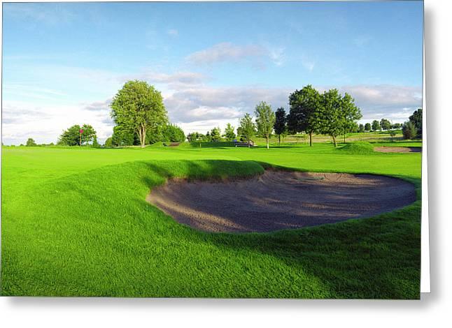Stirling Golf Club 10th Greeting Card by Jan W Faul