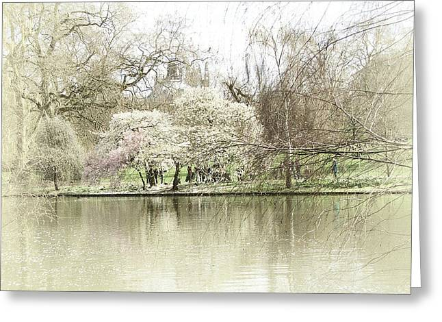St. James Park London Greeting Card