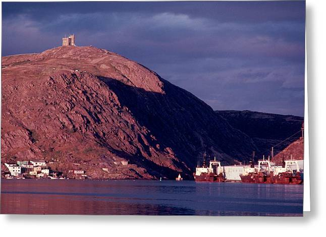 Greeting Card featuring the photograph St.john's.nl. by Douglas Pike