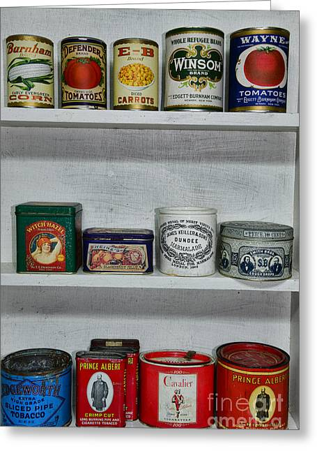 Stocked Shelves Greeting Card by Paul Ward