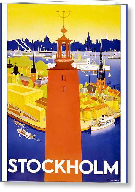 Stockholm Greeting Card