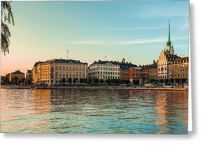 Stockholm Munkbroleden Greeting Card