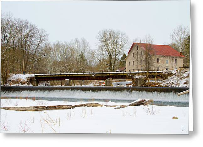 Stocton New Jersey - Prallsville Mills Greeting Card