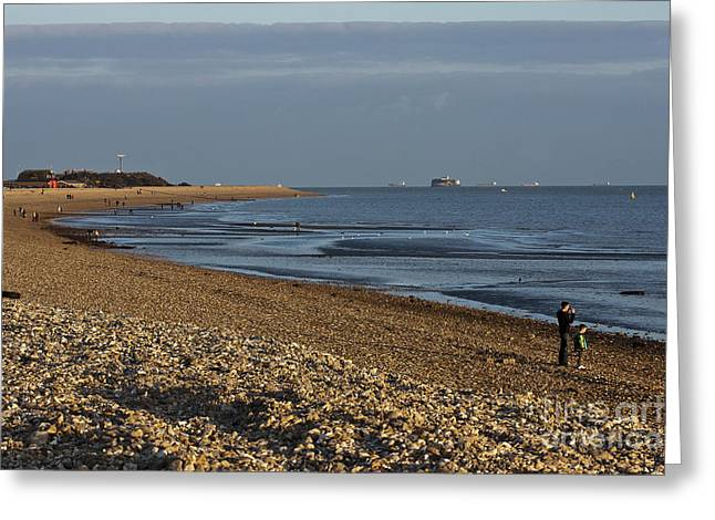 Stokes Bay England Greeting Card by Terri Waters