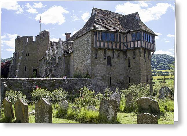 Stokesay Castle Shropshire Greeting Card
