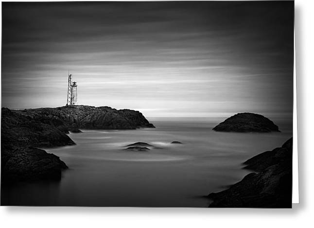 Stokksnes Lighthouse Greeting Card