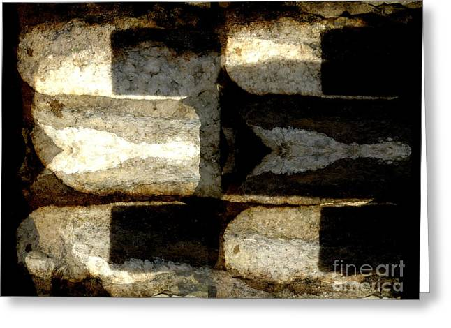 Stone Abstract Greeting Card