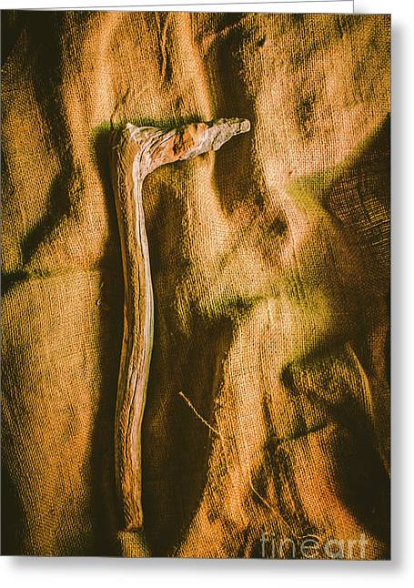 Stone Age Tools Greeting Card