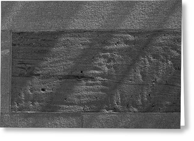 Stone And Light Greeting Card by Robert Ullmann